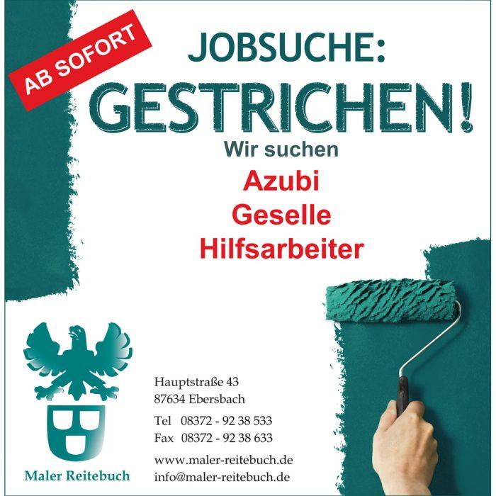 Maler Reitebuch